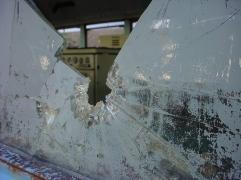 Window Bust Stove