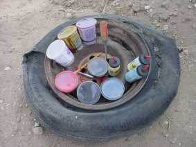 Tire o' Paint