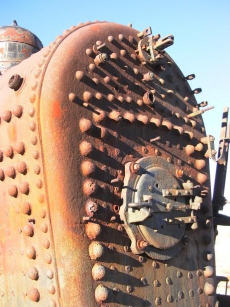Rusty Goldfield Con Train