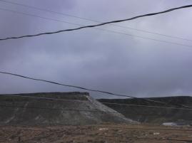 Malapai Ridge Snow Dusting