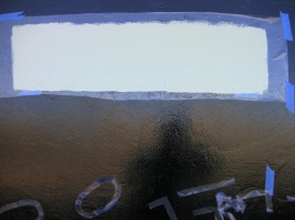 Goldfield Consolidated Train Painting Lettering