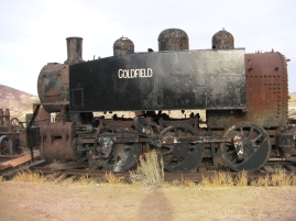 Goldfield Consolidated Train