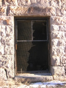 Goldfield Historic High School Groundfloor Window