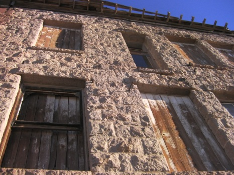 Goldfield Historic High School Windows