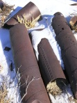 Rusty Tubes Snow