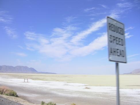 Passing The Black Rock Desert