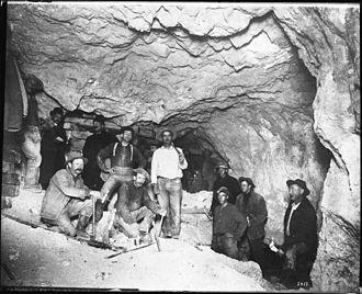 Mohawk Mine, Goldfield, NV. 1900-1905.