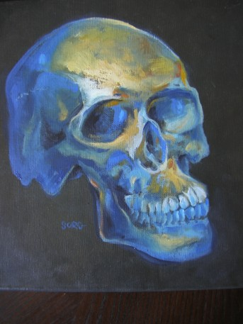 Skull Painting Number 1